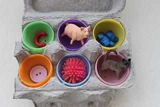 10 learning games using plastic eggs...we've already done the UC/LC match. The kids loved it!