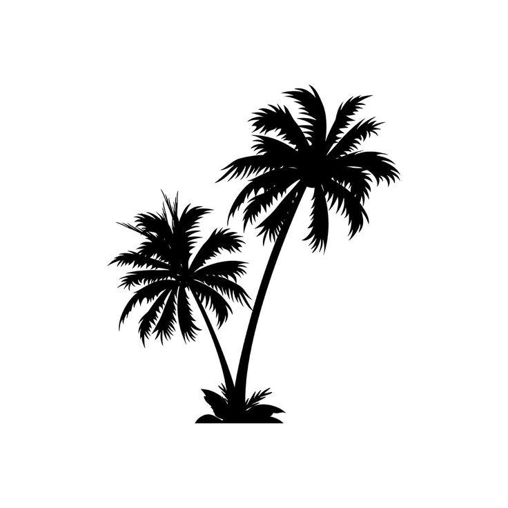Palm Tattoo Ideas | Tit for Tats | Palm tree clip art ...