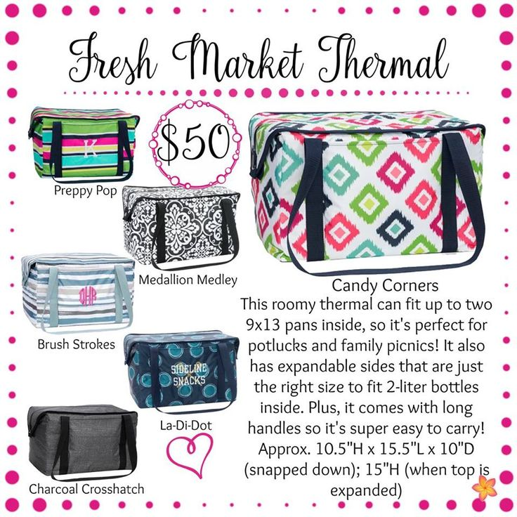 Fresh Market Thermal - Thirty-One Gifts - Spring / Summer 2017