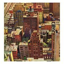 Fugleperspektiv i New York 17.aug 1946