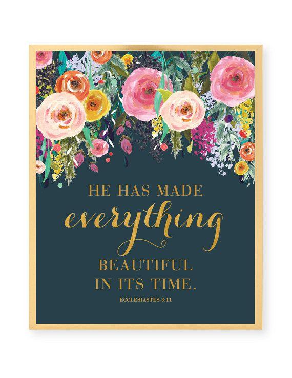 He Has Made Everything Beautiful Print