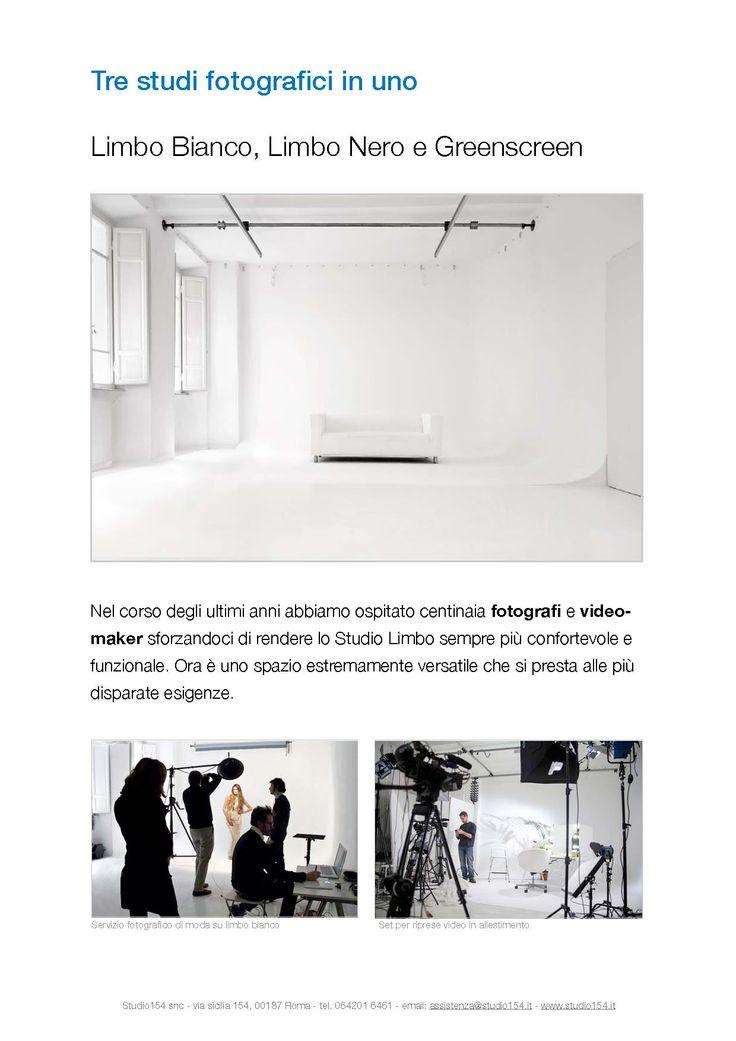 Noleggio Studio Fotografico a Roma. Sala di Posa attrezzata in affitto. Sfondo fotografico limbo greenscreen, bluescreen, chromakey  http://studio-fotografico.studio154.it