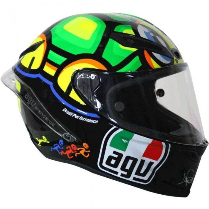 AGV Corsa Valentino Rossi Turtle Helmet available at Motochanic.com