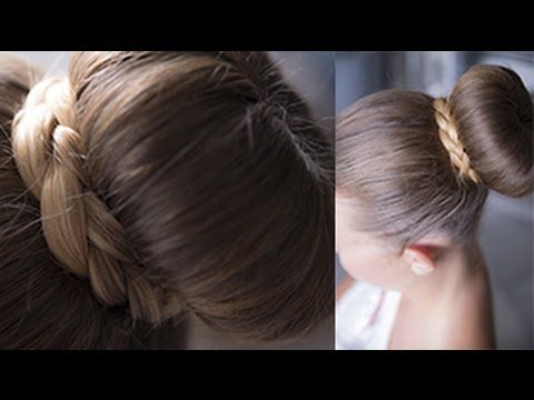 Come fare Chignon con treccia francese | Tutorial - YouTube