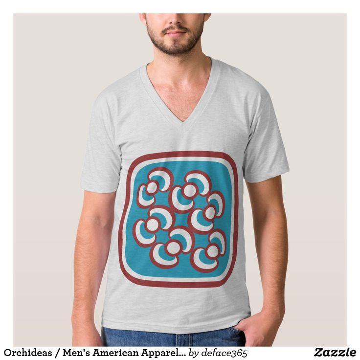 Orchideas / Men's American Apparel Fine Jersey T-Shirt