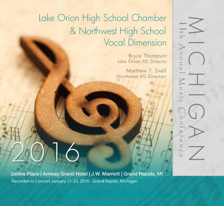 Michigan Music Conference 2016: Lake Orion H.S. Chamber Singers | features: From Behind the Caravan: Songs of Hâfez (mvt I) by Abbie Betinis