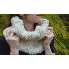 Cute Snood- kit mujer cuello #TheWoolCollection #kit #mujer #tejer #knitting