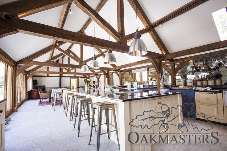 Contemporary Barn Conversion - Oakmasters
