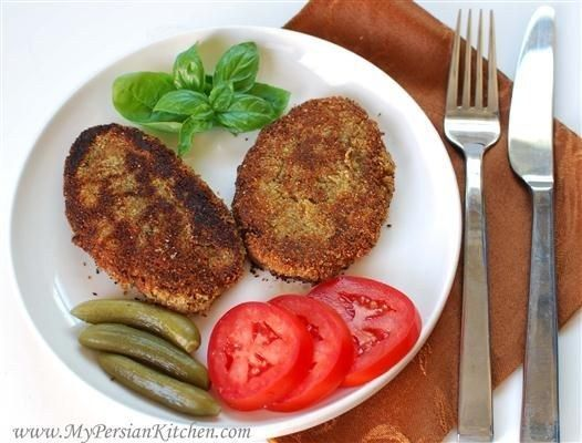 Kotlet | Community Post: 20 Persian Foods To Blow Your Taste Buds Away - Kotlet, cutlet — see what Iranians did there? This is basically an American beef cutlet with a Persian twist, adding potatoes and turmeric in the mix, and serving it in a lavosh bread sandwich with pickles and tomatoes.