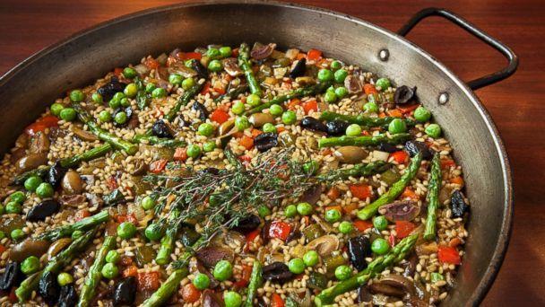Vegetable Paella Recipe   Jose Andres   Recipe - ABC News