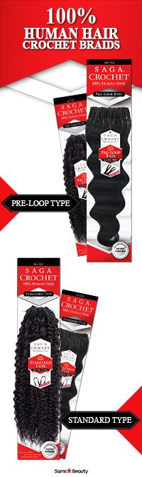 "Check out these NEW ITEMS  Items: SAGA HUMAN HAIR CROCHET BRAIDS PRE LOOP TYPE LOOSE DEEP & SUPER CURL / STANDARD TYPE LOOSE DEEP & SUPER CURL (PRODUCT INFO MENTIONED ABOVE IS ""PRE LOOP TYPE LOOSE DEEP)  Experience the next generation of Saga 100% Human Hair with the benefits of crochet!!! #blackgirlhair #hairstyle #beauty #trends #crochetbraids #humanhair #sagahair #kinkyhair #curlyhair #hairinspiration #naturalhaircommunity"