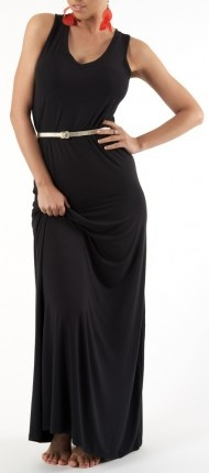 The Green Shop sustainable fashion black dress