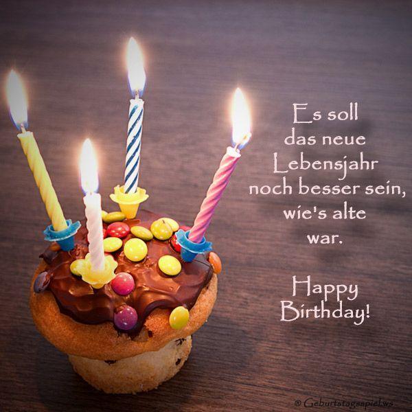 Geburtstagswünsche Herzlich