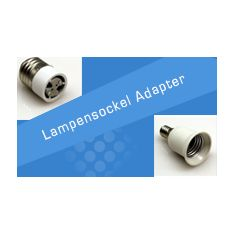 Lampensockel Adapter