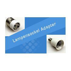 Lampensockel Adapter