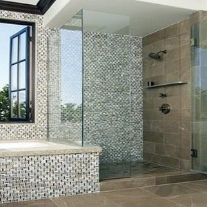 Bathroom Tile Ideas Mosaic 18 best the best tile designs for bathrooms images on pinterest