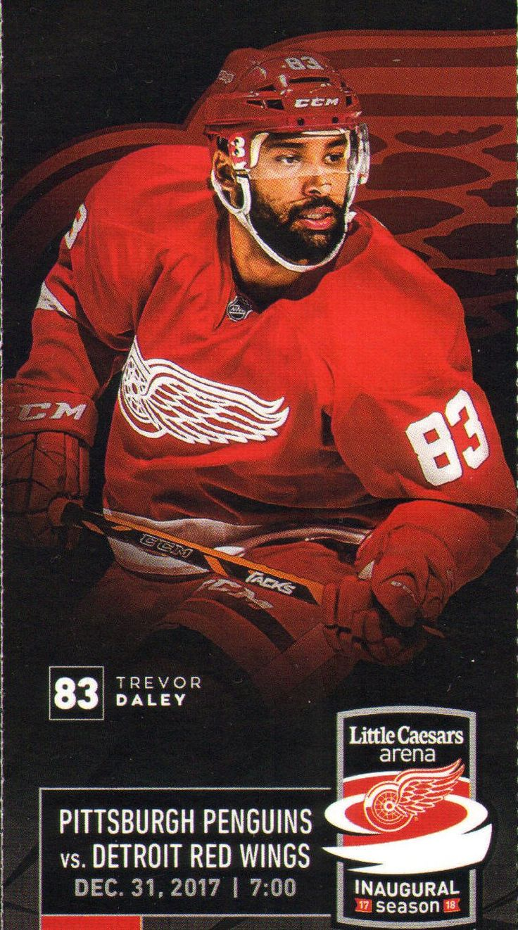 Trevor Daley is a Canadian professional ice hockey defenceman currently playing for the Detroit Red Wings of the National Hockey League. He has also played for the Pittsburgh Penguins, Dallas Stars, and Chicago Blackhawks.