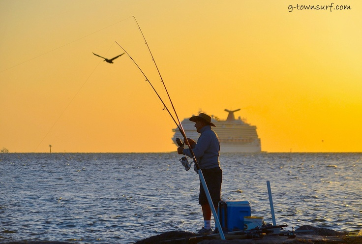 17 best images about galveston my galveston on pinterest for Galveston jetty fishing report