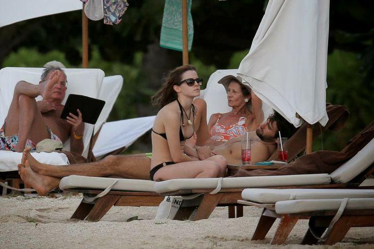 Emma Watson In bikini on beach