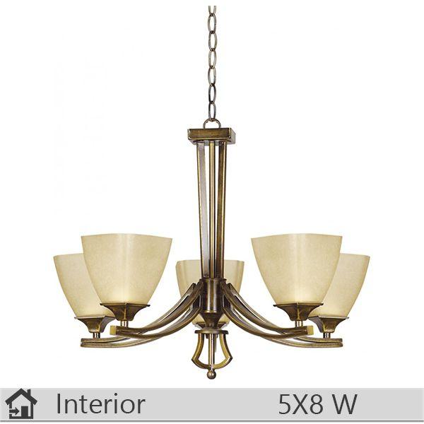 Lustra iluminat decorativ interior Klausen, gama Baldo, model nr5