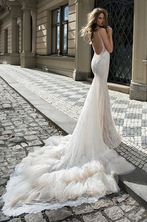 Berta's new Fall 2015 collection is probably the most intriguing and complex bridal collection yet. Epic will be the most suited word to describe it. With the use of even more different textures of materials and beadwork than ever before, this collection is a timeless creation that is as an ode to c