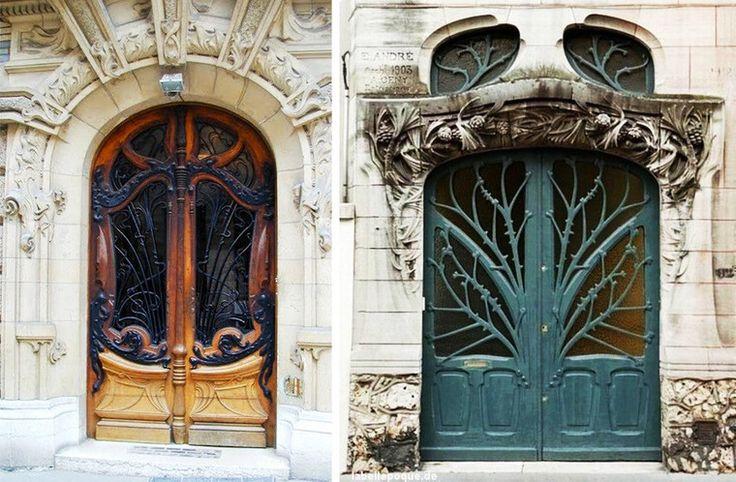 Двери в стиле ар-нуво