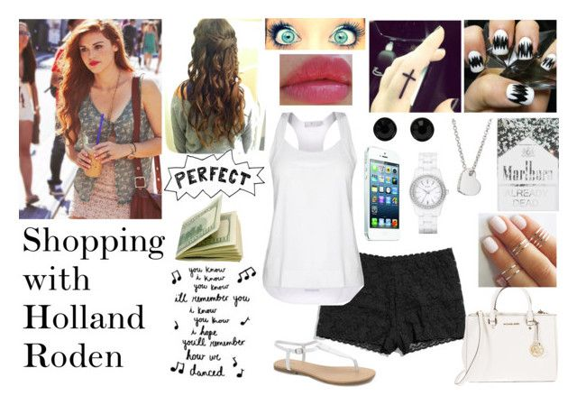 Shopping with Holland Roden by diirectiioner69 on Polyvore featuring polyvore moda style STELLA McCARTNEY Hanky Panky MIA MICHAEL Michael Kors DKNY Givenchy Coach Revlon Humör fashion clothing