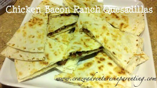 Chili's Chicken Bacon Ranch Quesadillas {Healthified} Recipe