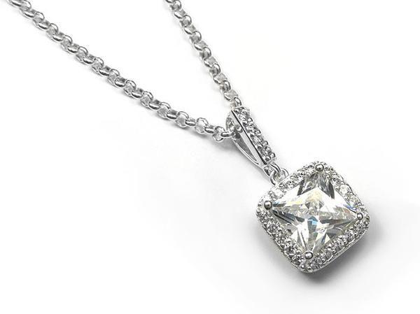 Silver Pendant - Graceful