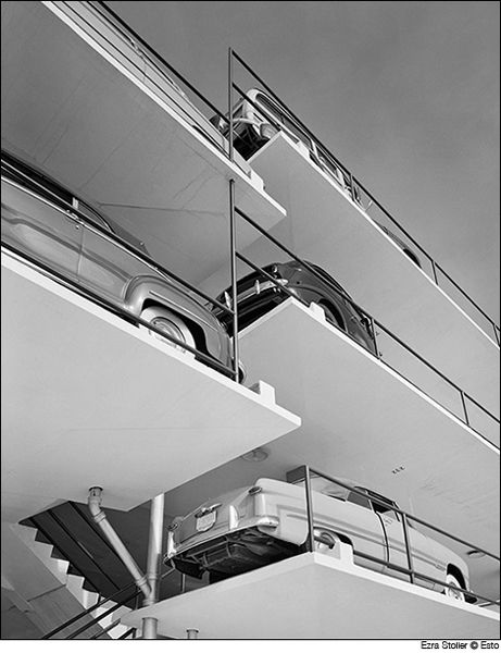Miami Parking Garage | Miami, Florida | Robert Law Weed and Associates | photo by Ezra Stoller