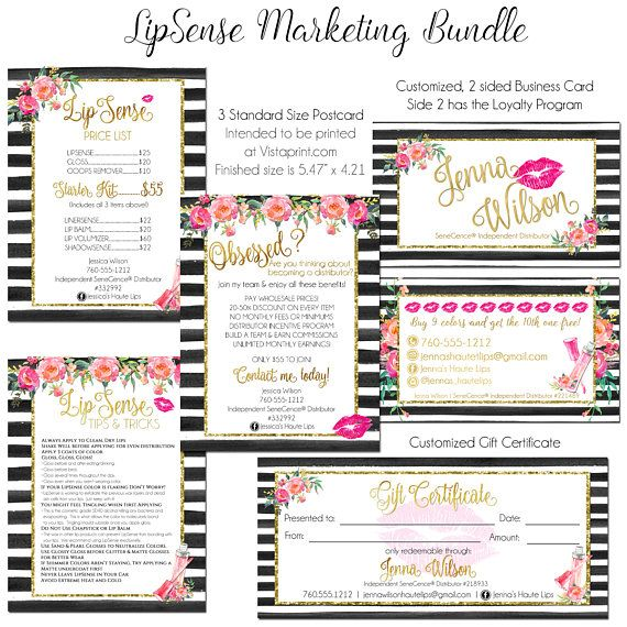 Vista Print Two Sided Business Cards