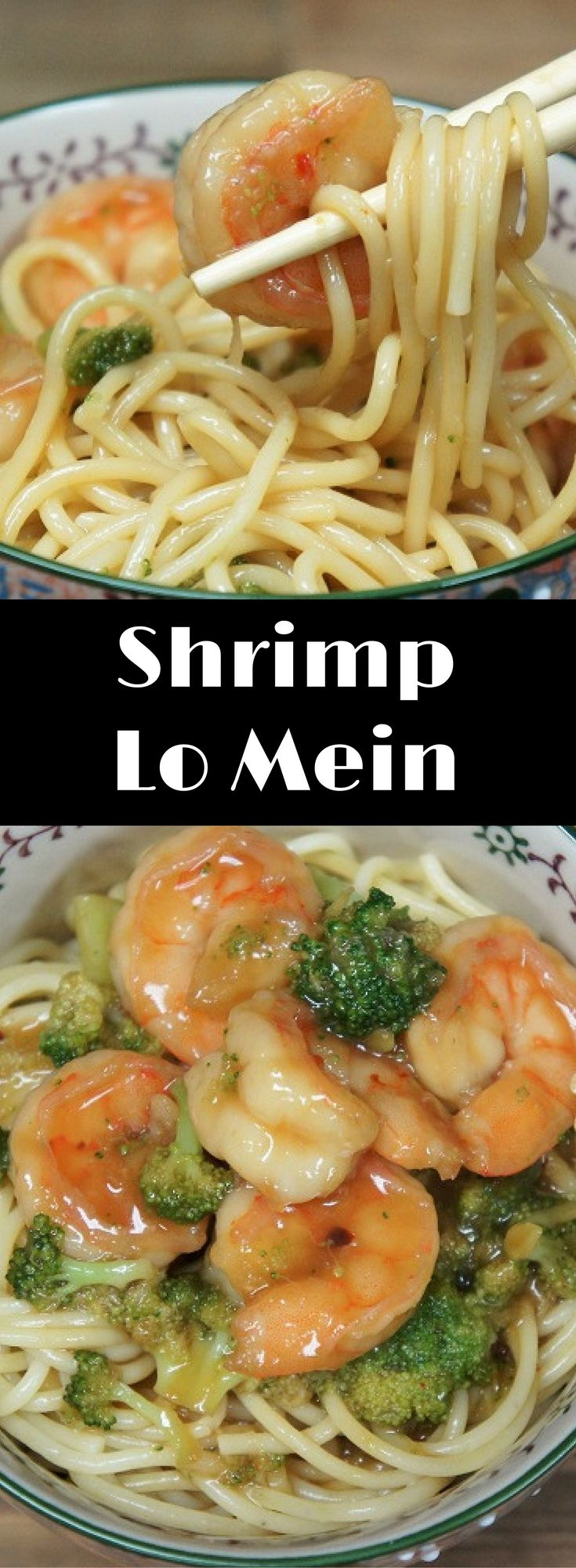 This Shrimp Lo Mein recipe is quick, easy and delicious, making it a perfect dinner for busy weeknights. We use prepackaged, steam-in-the bag broccoli and frozen, clean, easy-to- peel shrimp to make this meal even easier. No Lo Mein noodles on hand? No problem. Just grab a box of spaghetti from the pantry, they're just as delicious.