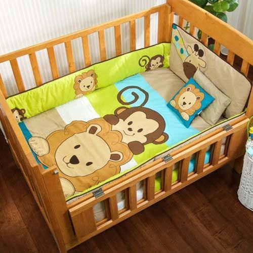 Baby Friends Nursery 6 Pieces CRIB BEDDING SET #BabyVNG