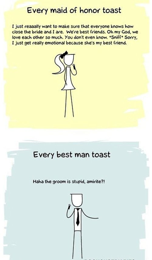 Better Wedding Toasts