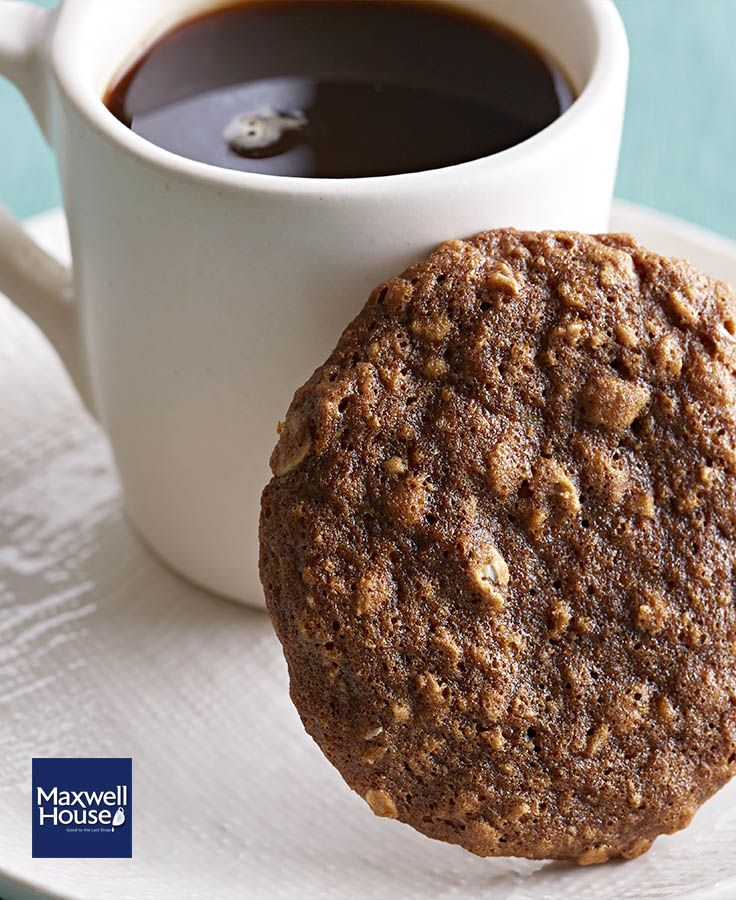 Biscuits à l'avoine et au café #recette