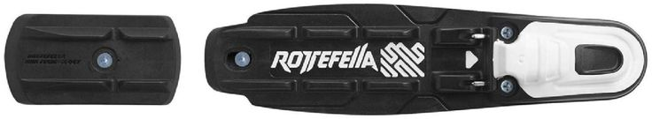 Rottefella NNN Basic Cross-Country Ski Bindings Black/White