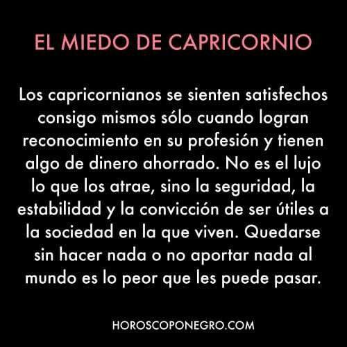 #capricornio