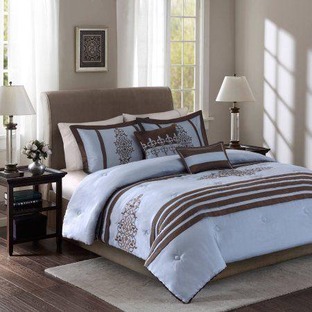 Best Comforters I Like Images On Pinterest Comforter Sets - Blue and brown damask comforter