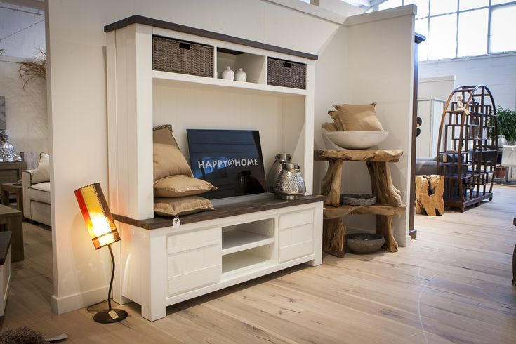 Landelijke meubelen deaumain tv kast deaumain happy at for Complete woonkamer meubels