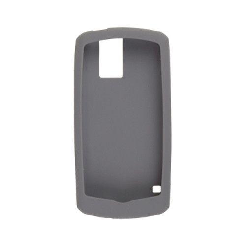 BlackBerry Rubberized Skin for BlackBerry Pearl 8100, 8100c, (Pale Gray)