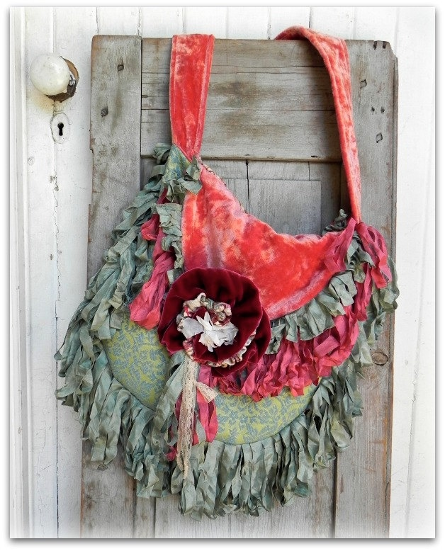 Prairie Couture Carpet Bag - Vagabond Gypsy Style