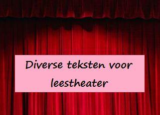 Leestheater   Klas van juf Linda