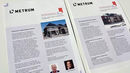 Zwanenburg Media | Folders van Heijst & partners particulier opdrachtgeverschap