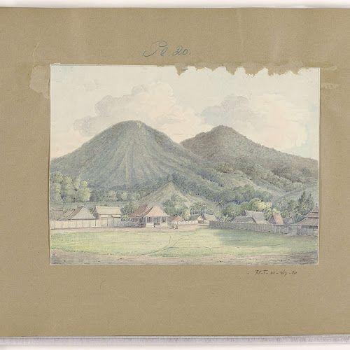 Preanger Regentschappen, Java, Jannes Theodorus Bik, 1819 - Rijksmuseum