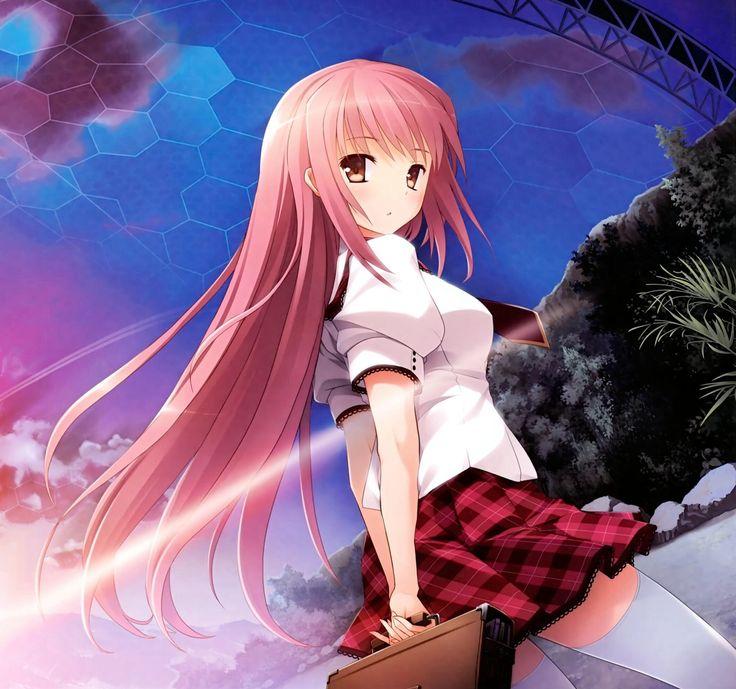 Anime girl carrying bag twilight princess midnas