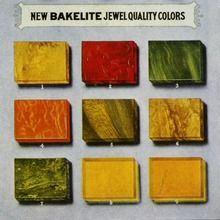 Bakelite-- (sometimes spelled Baekelite), or polyoxybenzylmethylenglycolanhydride, is an early plastic. It is a thermosetting phenol formaldehyde resin, formed from a condensation reaction of phenol with formaldehyde. It was developed by the Belgian-American chemist Leo Baekeland in NY in 1907.