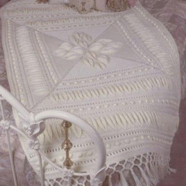 Mary Maxim - Free Simply Soft Afghan Knit Pattern - Free Patterns - Patterns & Books