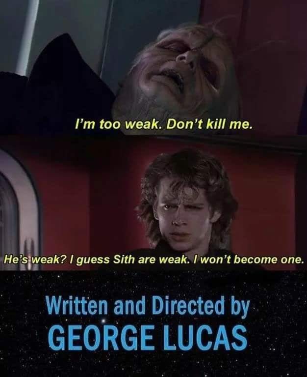 Wholesome Ani Star Wars Quotes Star Wars Jokes Funny Star Wars Memes