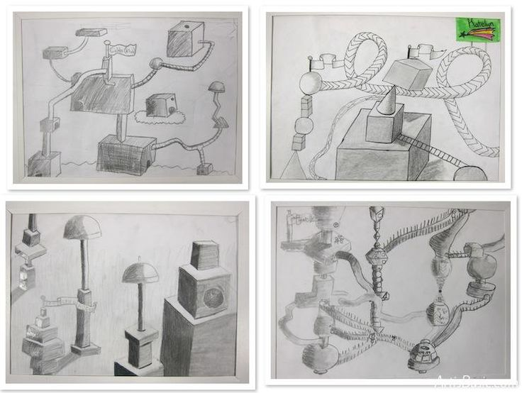 secret cities: Learn to draw 3d shapes