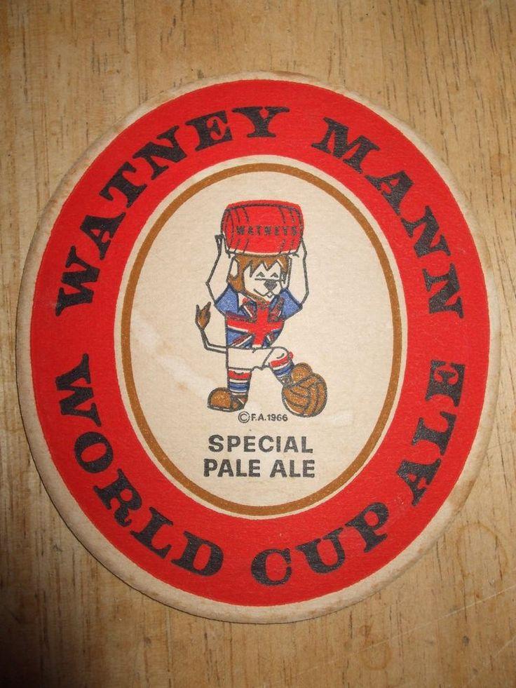 World cup Willie Watney Mann World Cup Ale Beer Mat    eBay